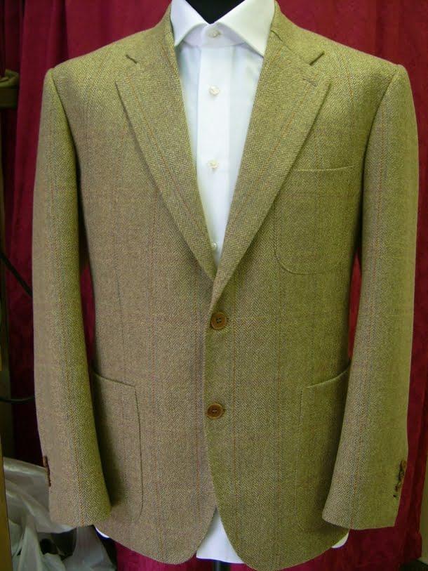 Sacou tweed