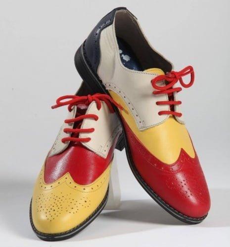 Pantofi combinatii de culori