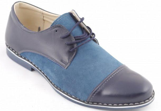 pantofi doua nuante