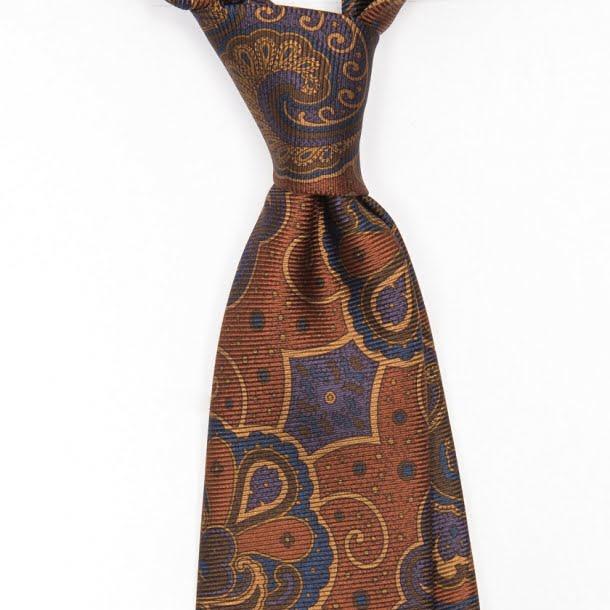 cravata_matase_handmade_ancient_madder_maro_1