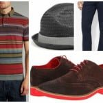 Propunerea zilei – pălăria și tricoul polo