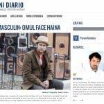 Interviul de pe blogul Peroni Diario