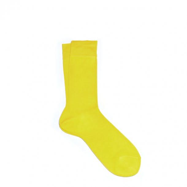 sosete-bumbac-mercerizat-italia-yellow-1