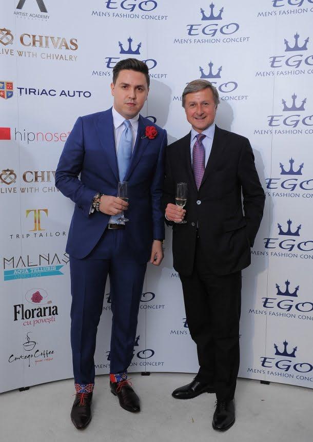 Ionut Marin(managing partner EGO), Dominic Dormeuil