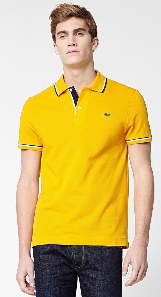 tricou galben
