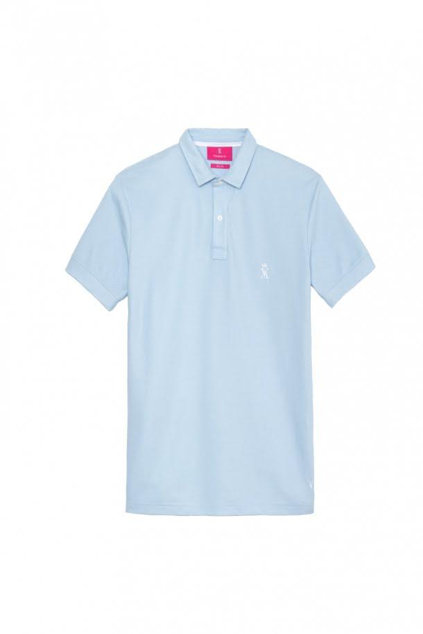 tricou polo bleu barbatesc 382 lei