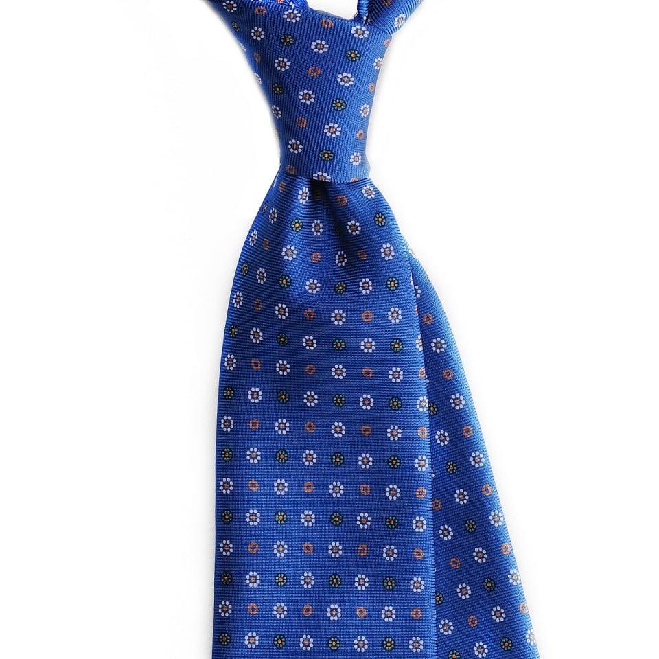 Cravata matase floral hand rolled Urban Ties