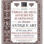 Obiecte de artă, antichități și obiecte de artizanat la Polus Center