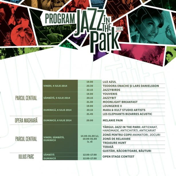 Program Jazz in the Park