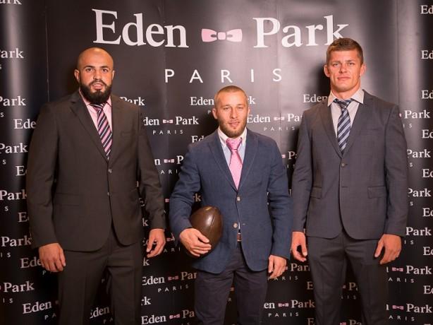 Viorel Lucaci, Florin Surugiu si Alexandru Mitu (Echipa Nationala de Rugby)