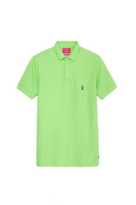 tricou polo verde barbatesc 348 lei