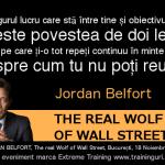 Jordan Belfort – evenimentul de business al anului 2014