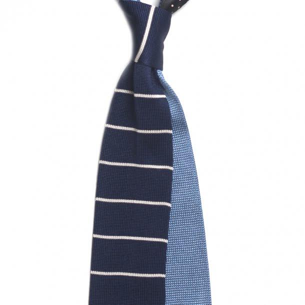 Cravatele tricotate de mătase