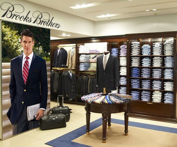 Brooks Brothers Store interior