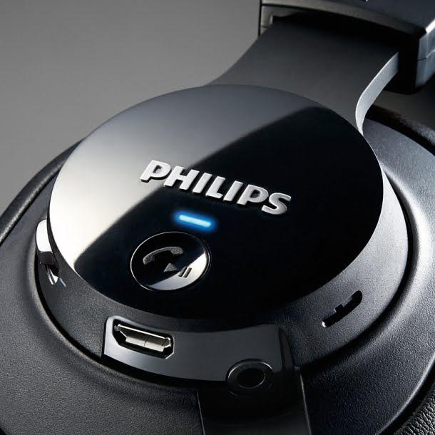noile casti wireless Philips SHB7150FB - 2