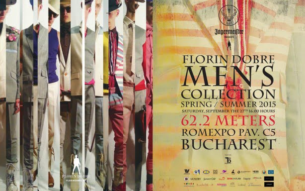 Florin Dobre – S/S 2015, BUCHAREST September 27th, 16:00h at ROMEXPO