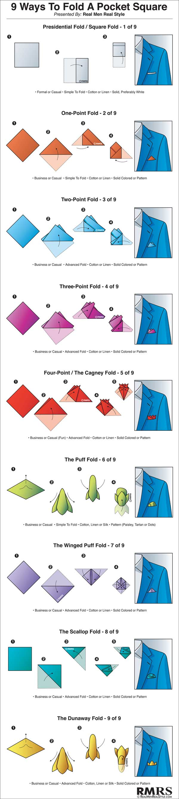 9-Ways-To-Fold-A-Pocket-Square-Infographic-600