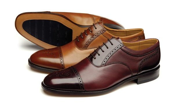 Pantofi OXford Semi Brogue
