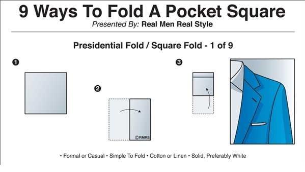 9 modalități de a purta batista de buzunar