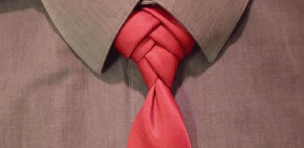 Nodul Fishbone Ce este cravata? Un accesoriu?