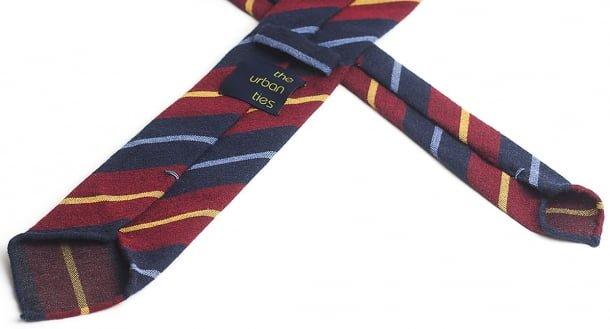 cravata handrolled