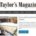 Recomandare revistă: Taylor's Magazine
