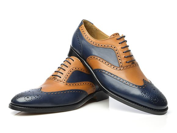 two-tone-full-brogue-oxford-in-blue-tan-boxcalf-leather-Model-no-382-by-Shoepassion