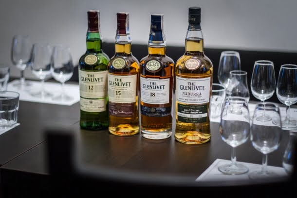 GLENLIVET RANGE BY WHISKYPEDIA