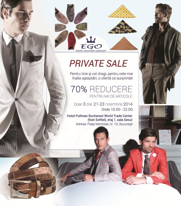 Invitatie EGO Private SALE