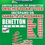 United Colors of Benetton revine în Cluj Napoca