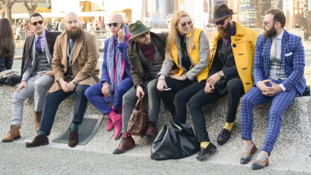 Street style Pitti Uomo 87 - Powered by Louis Purple