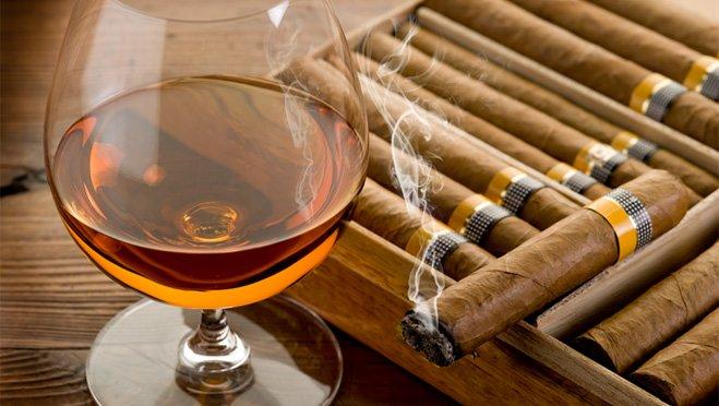 cigar-cognac