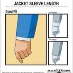 Care este lungimea corectă a mânecilor de la sacou?
