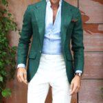 Poartă culoarea verde cu atitudine