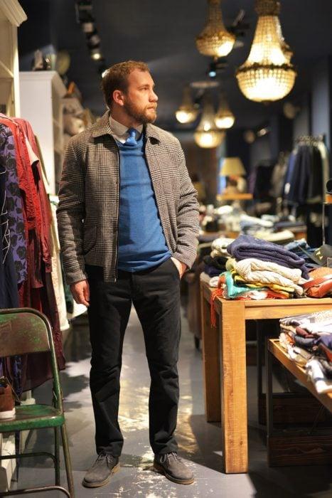 Jachete casual de toamnă și primăvară pentru bărbați