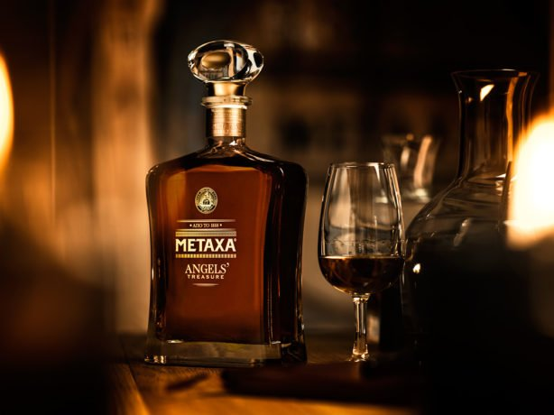 METAXA ANGELS' Treasure - The Decanter & Tasting glass
