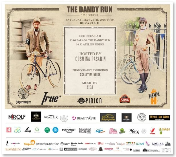 invitatie Dandy Run