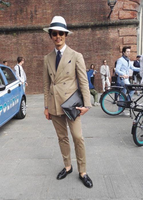 Street Style Pitti Uomo 90 - fotografii din prima zi