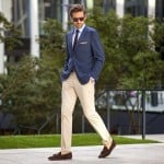 Câteva combinaţii clasice de sacou şi pantaloni