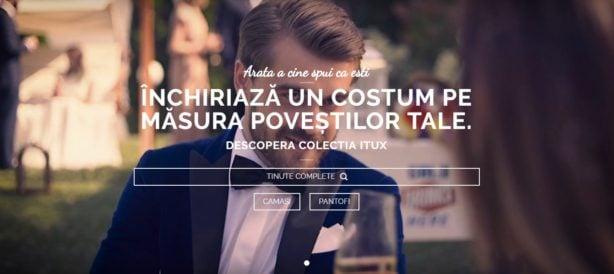 Itux - locul de unde îți poți închiria haine online și offline