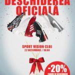 Sport Vision deschide pe 22 octombrie un magazin în Iulius Mall Cluj