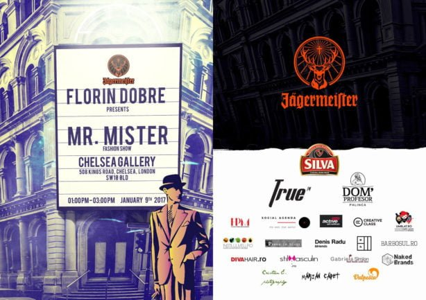 Florin Dobre - ,Mr. Mister' F/W 2017 collection, London