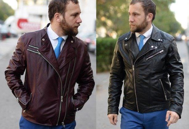 Jacheta de piele - alegerea rebelă, dar stilată
