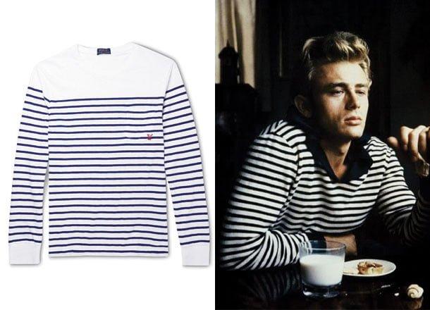 Tricoul în dungi Breton - cum să-l porți și să-l asortezi
