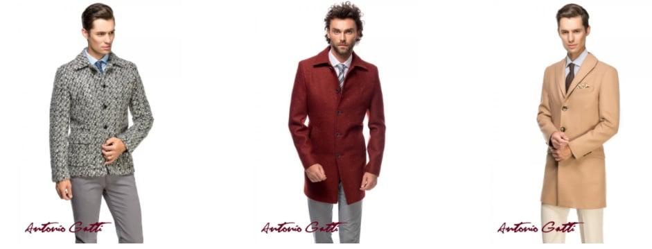 Paltoane și jachete de iarnă la un preț special la Antonio Gatti