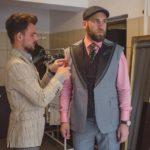 Prima probă a costumului Royal Craus