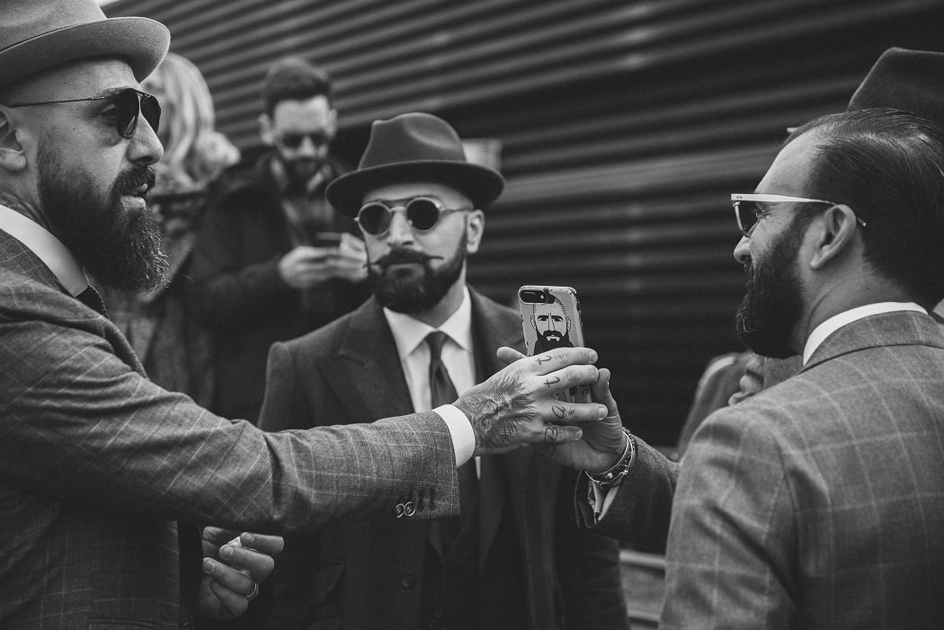 Nivea Men prezintă Bărboși la Pitti Uomo 93
