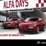 Auto Italia începe campania AlfaDays – O lună de discounturi pentru modelele Alfa Romeo