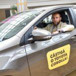 Cu doar 100 lei poți avea șansa de a câștiga o Toyota Corolla