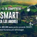 Până pe 23 octombrie mai poți înscrie proiecte de tip SMART CITY în competiția națională RO SMART în Țara lui Andrei